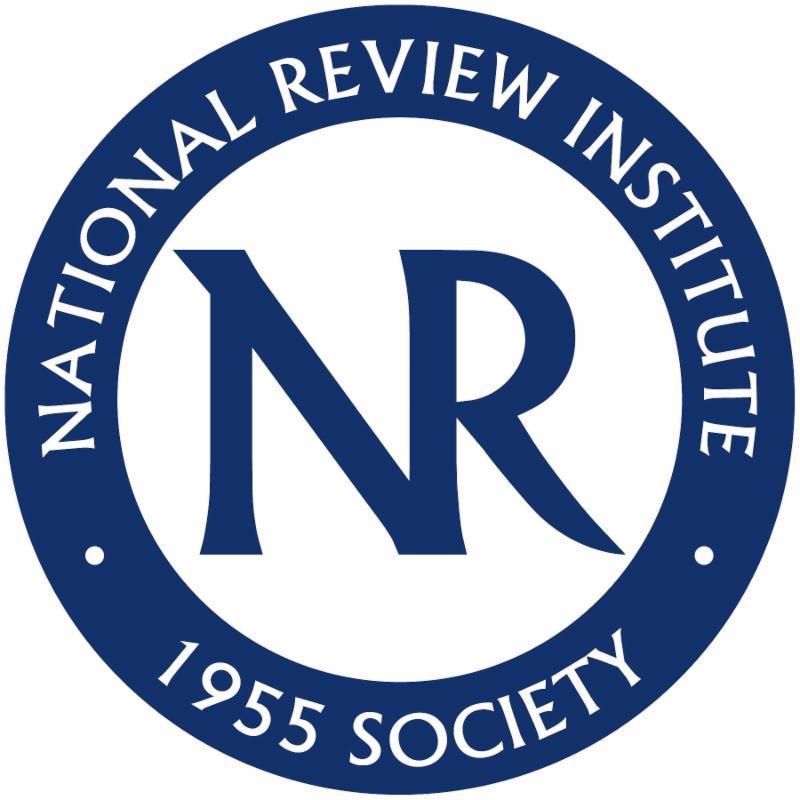 NRI society logo dark blue
